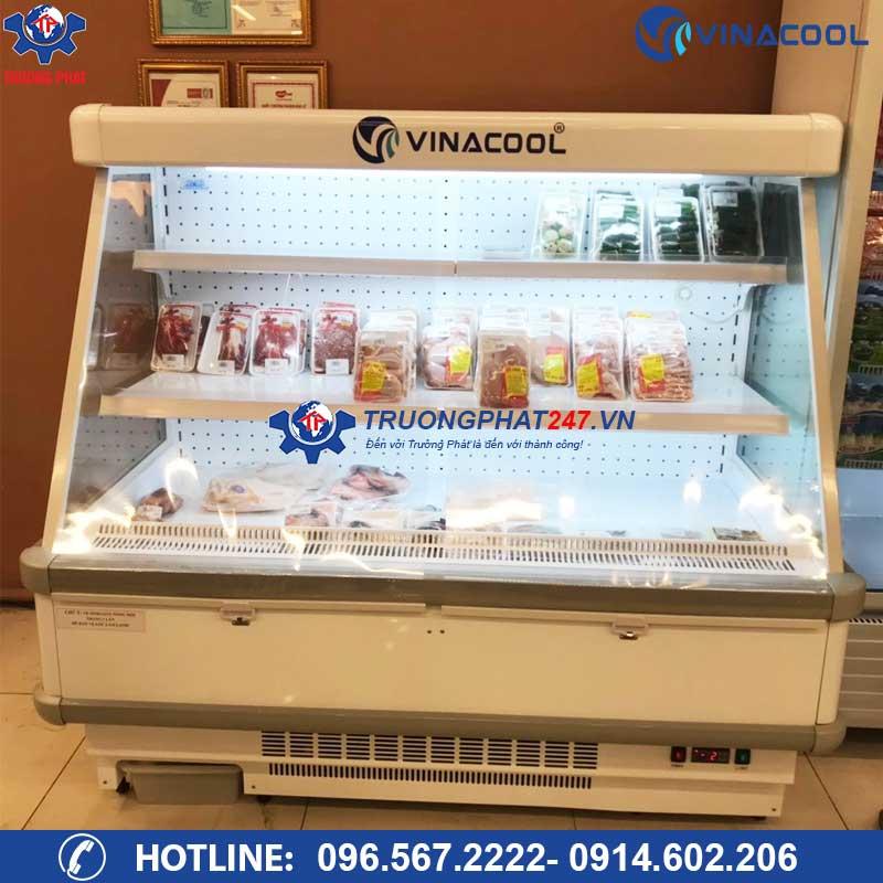 Tủ lạnh trưng bày thịt tươi sống 3 tầng không cửa