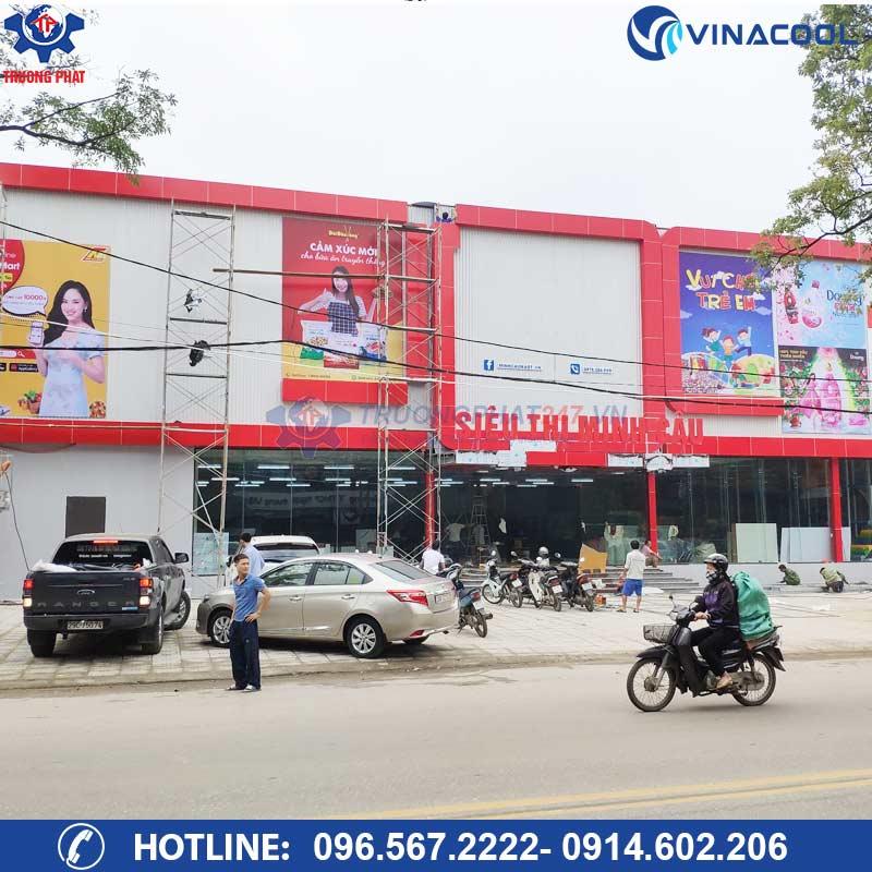 Dự Án Siêu Thị Minh Cầu Thái Nguyên