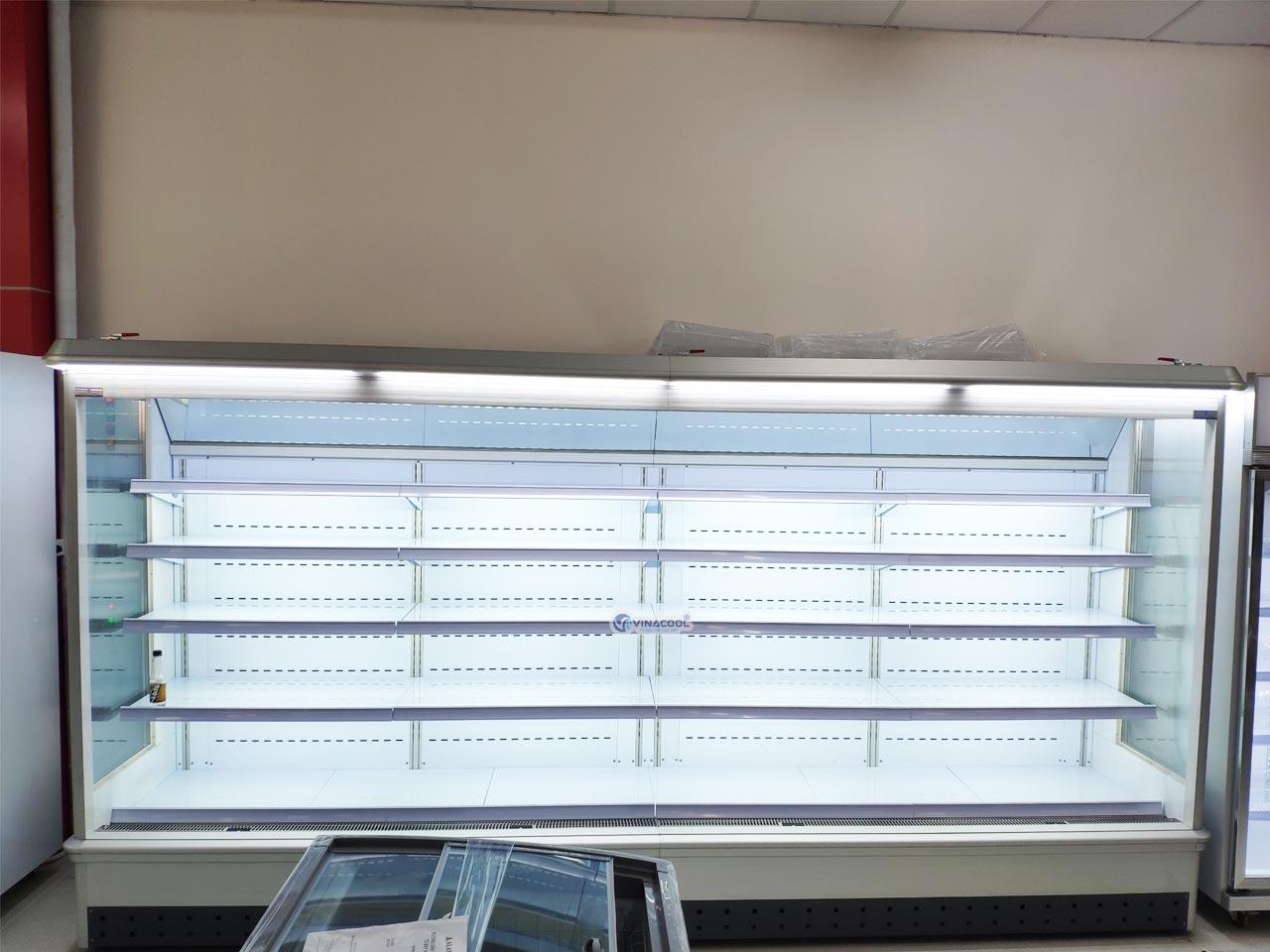 tủ mát siêu thị không cửa cao cấp
