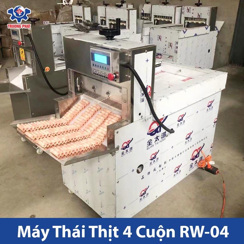 Máy thái thịt đông lạnh công nghiệp 4 cuộn RW-04