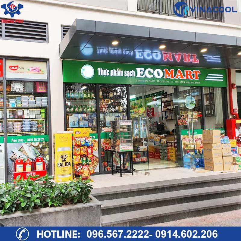 Dự án siêu thị thực phẩm sạch Ecomart