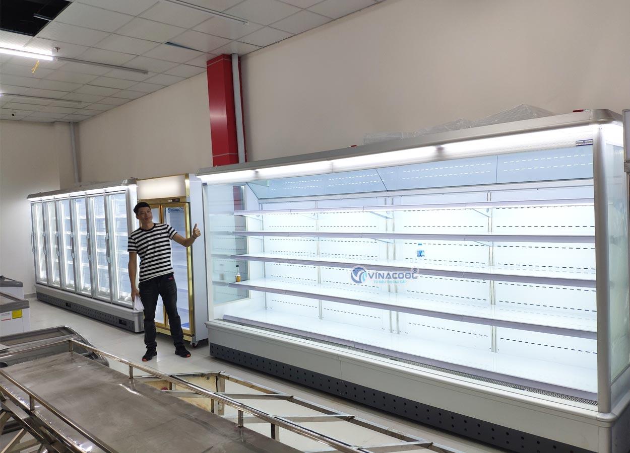 Tủ siêu thị cao cấp chiều dài không giới hạn