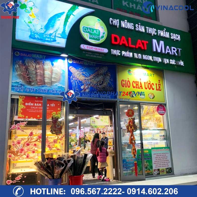 Siêu thị thực phẩm sạch Dalatmart Times City