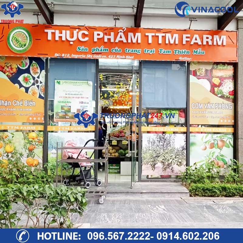 Thực phẩm sạch TTM Farm