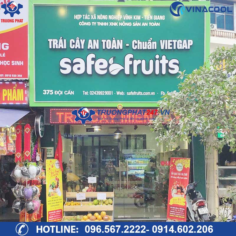 Cửa hàng trái cây nhập khẩu Safe Fruits