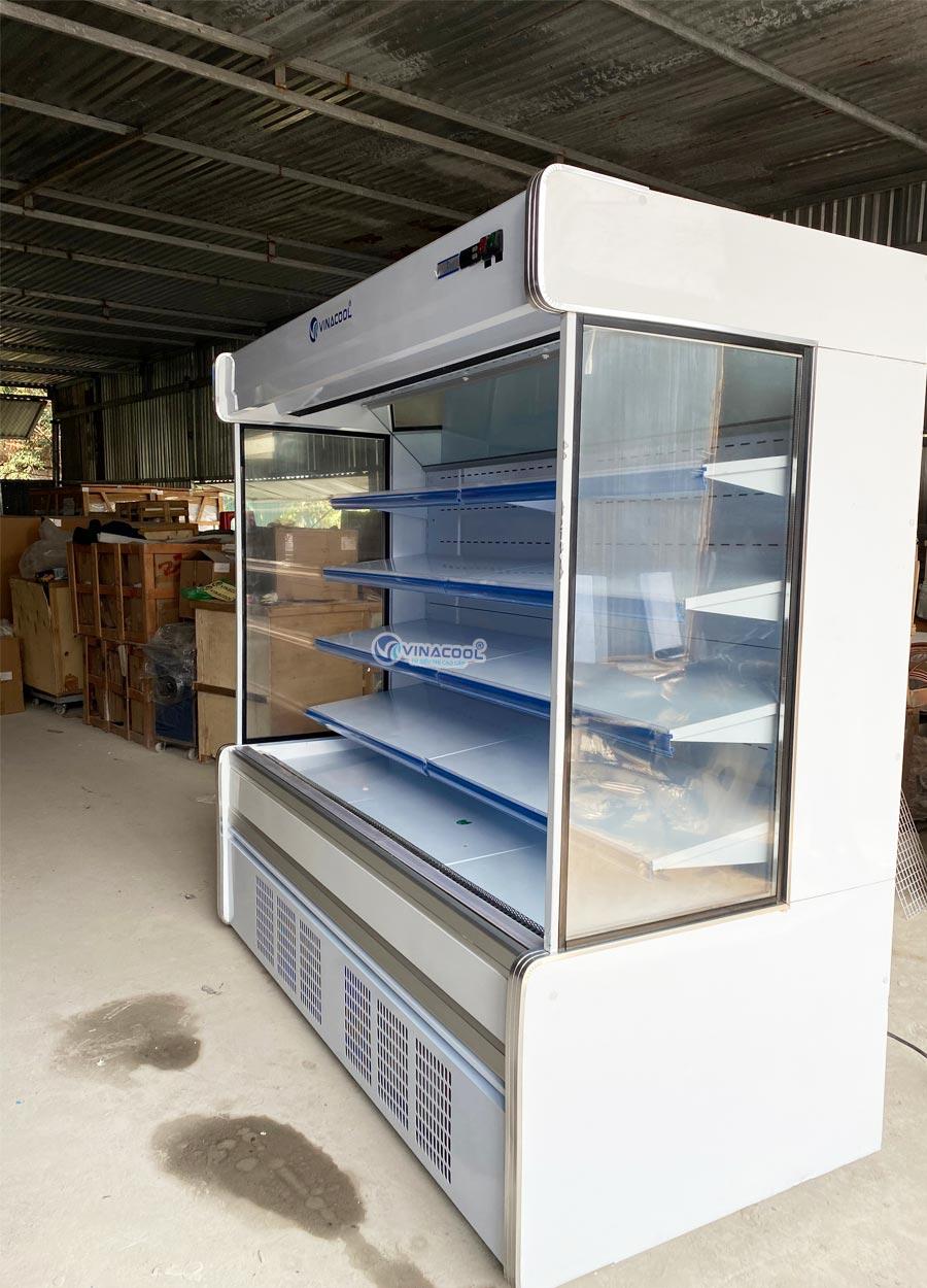 thanh lý tủ siêu thị vuông dài 2m