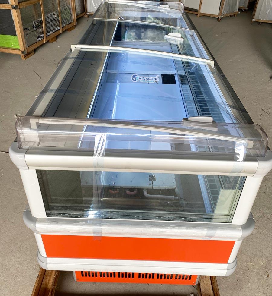 tủ bảo quản thực phẩm đông lạnh dài 2m5