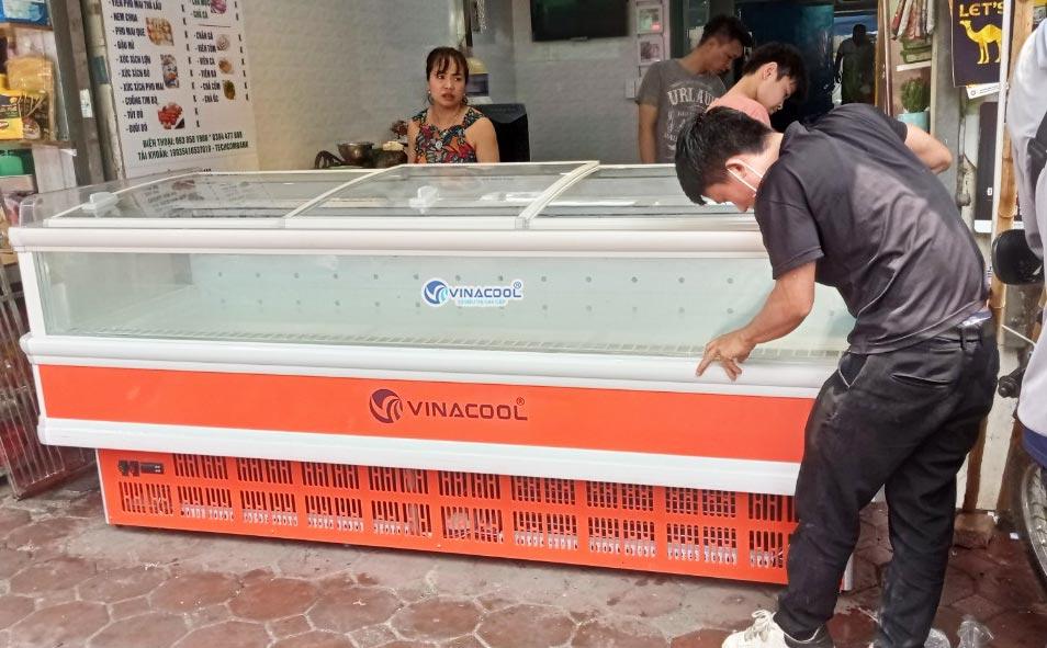 tủ đông để thực phẩm dài 2m5
