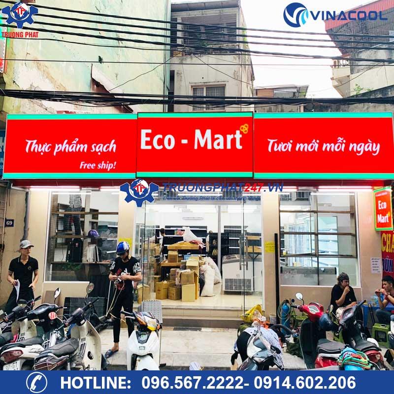 Siêu thị thực phẩm sạch Ecomart Hà Nội
