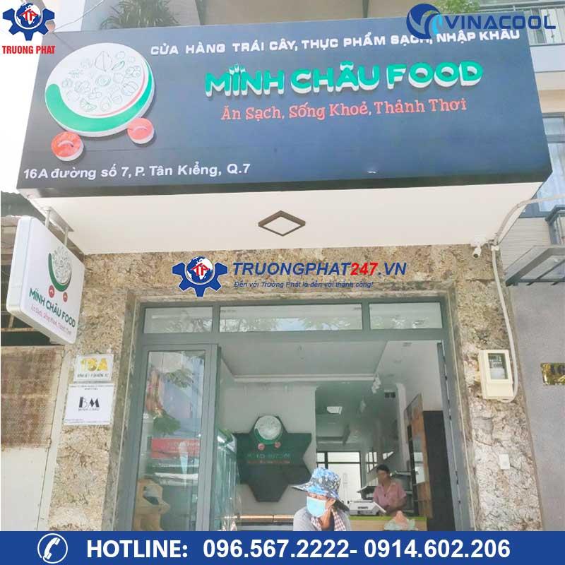 Cửa hàng thực phẩm sạch Minh Châu Food